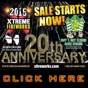 Get Your Free Xtreme Fireworks 2015 Catalog!