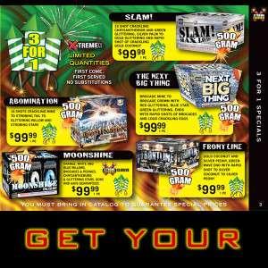Free Xtreme Fireworks of WI 2015 Catalog!