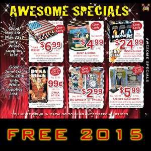 Free Xtreme Fireworks of Wisconsin Catalog!