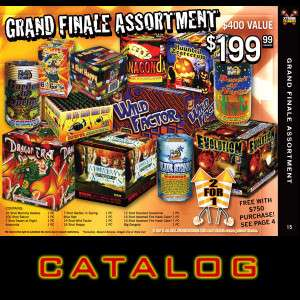 Free Wisconsin and Illinois Fireworks Catalog!