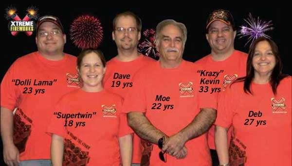 Xtreme Fireworks Staff